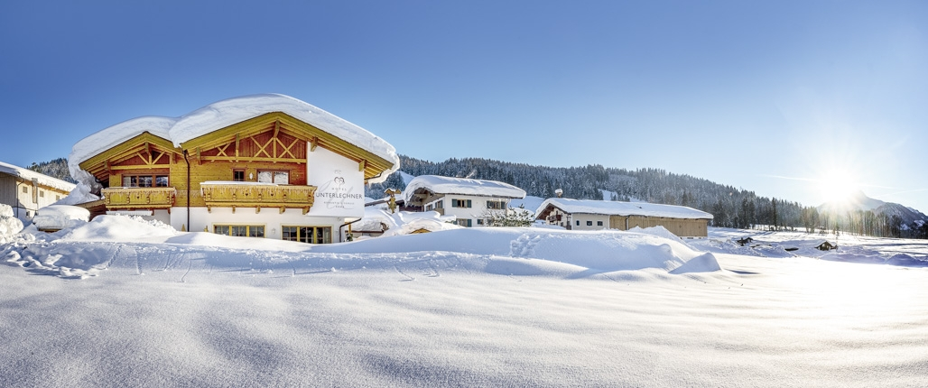 Winter im Pillerseetal