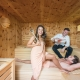 Small Wellness Sauna