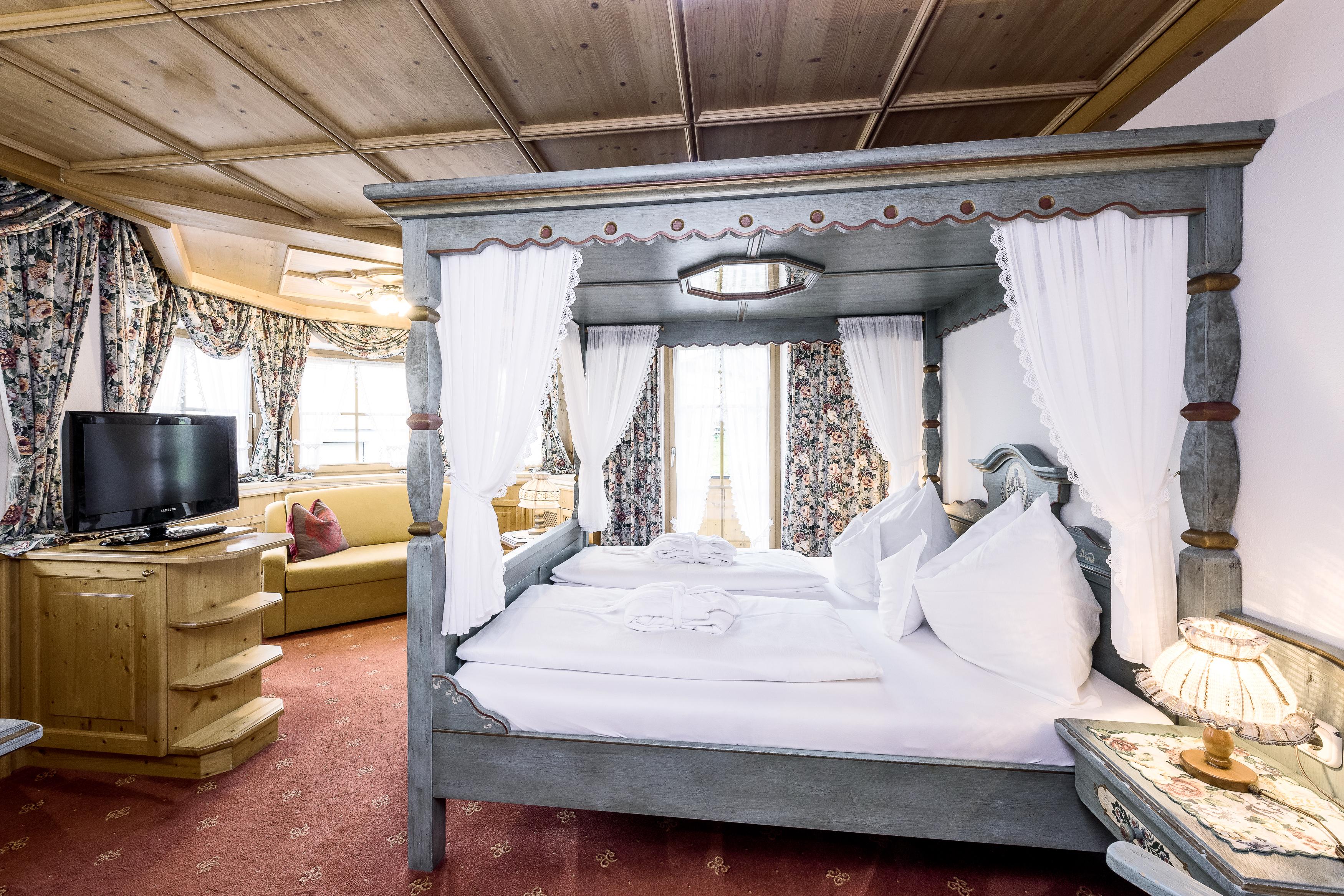 Zimmer Herzblut VIP Bett