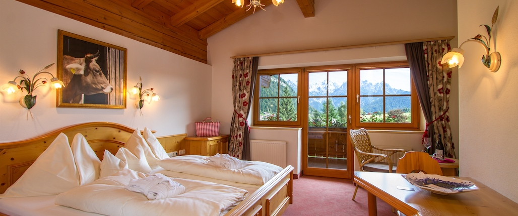 Hotel Unterlechner Zimmer Kitzbühel